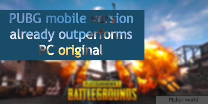 PUBG mobile version
