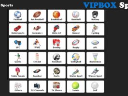VIPBOX for Streaming Live Sports