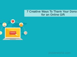 7 Creative Ways To Thank Your Donors for an Online Gift